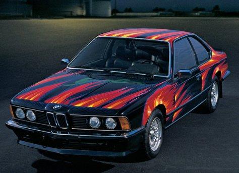 Ernst Fuchs BMW Art Car