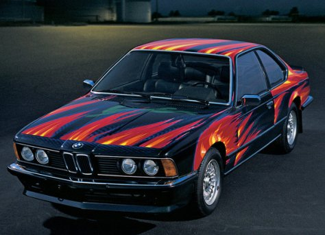 Ernst Fuchs BMW Art Car