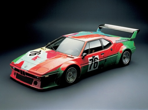 Andy Warhol BMW Art Car