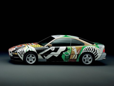 David Hockney BMW Art Car