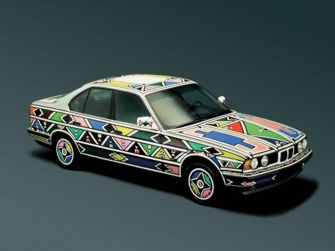 Esther Mahlangu BMW Art Car