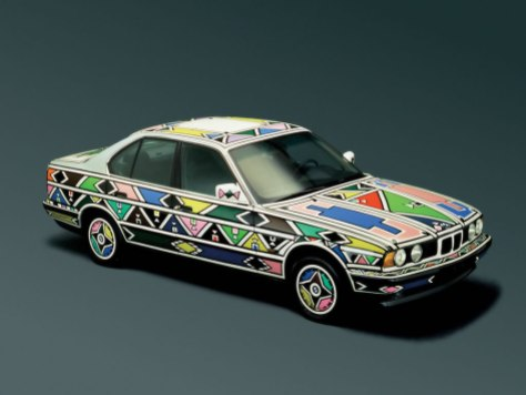Esther Mahlangu BMW Art Car