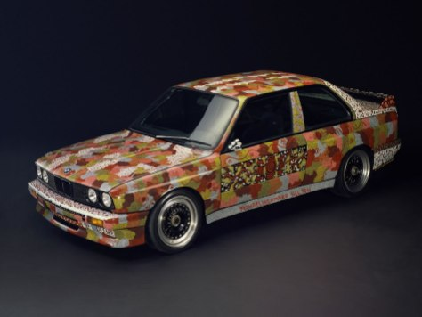 Michael Jagamara Nelson BMW Art Car