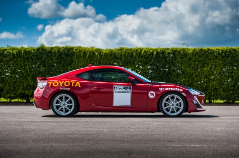 toyota GT86 Motorsport liveries