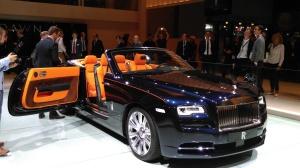 2015 Frankfurt Motor Show: Rolls-Royce Dawn