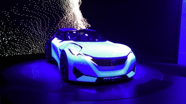 2015 Frankfurt Motor Show: Peugeot Fractal concept