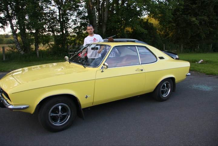 Marcin And Kasia Tell Me About Their Opel Manta A - Changing Lanes