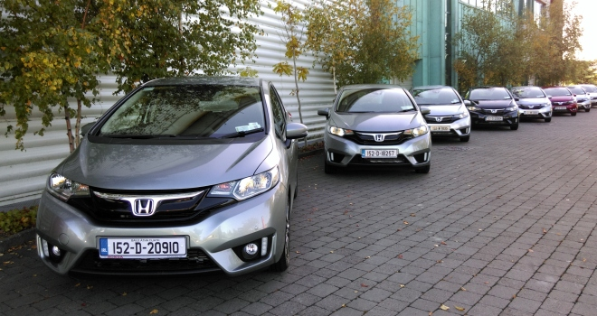 I drive the new Honda HR-V and Jazz at the Irish launch.