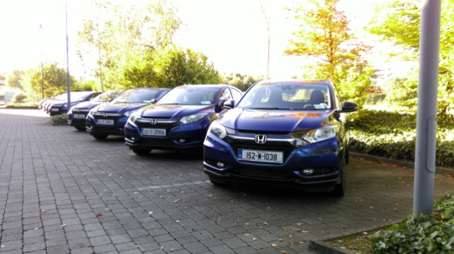 Honda HR-V and Jazz Irish launch review