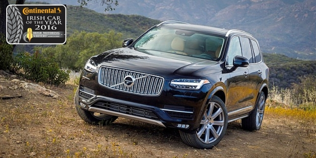 Volvo XC90 Continental Irish Executive Car Of The Year 2016