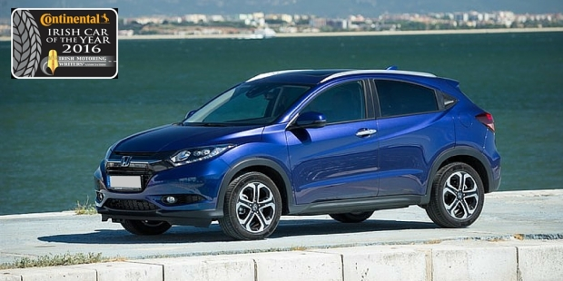 Honda HR-V Continental Irish Compact Family Car Of The Year 2016