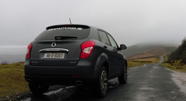 ssangyong korando SUV irish review