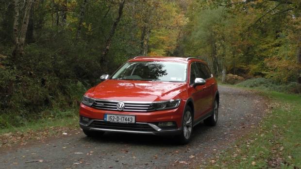 Volkswagen Passat Alltrack irish car review