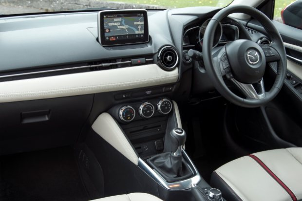 Mazda2: Cabin is well-finished and very stylish